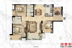 C1户型-97�O-3房2厅2卫