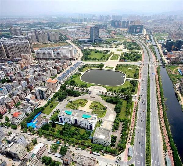 战略交通规划蓝图出台后,东部新城的规划也开始落实,水口也从城乡