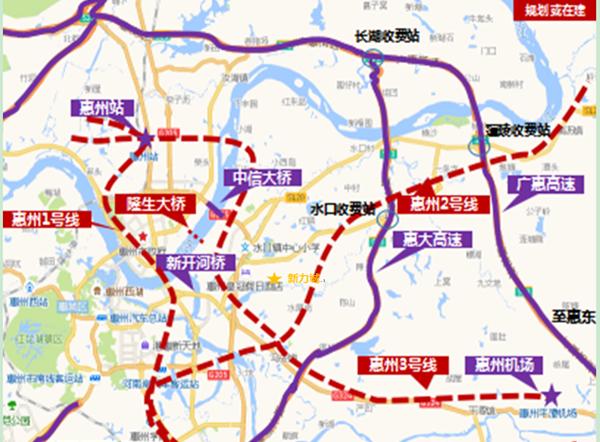 惠州交通规划大盘点 这些你都知道多少