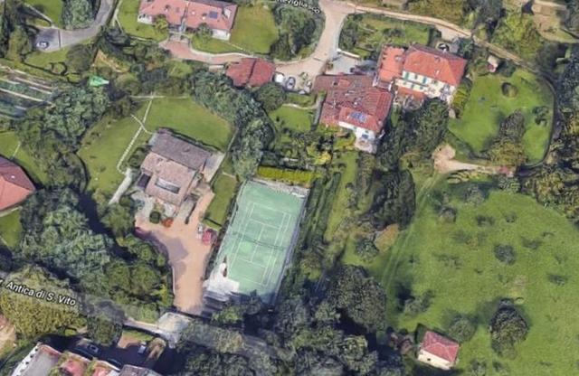 意媒曝光C罗都灵住所,1700平米天价豪宅