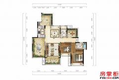 观云墅(顶层)-104�O-2房2厅2卫