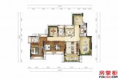 凌云墅(顶层)-122�O-3房2厅2卫