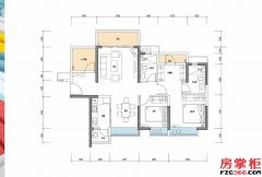 华章-105�O-2房2厅2卫