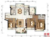 1栋-D1-116平米-3房2厅2卫