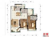 1栋-E1-97平米-2房2厅2卫