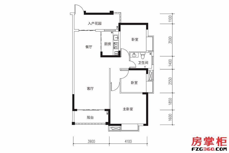 105平米-3房2厅1卫