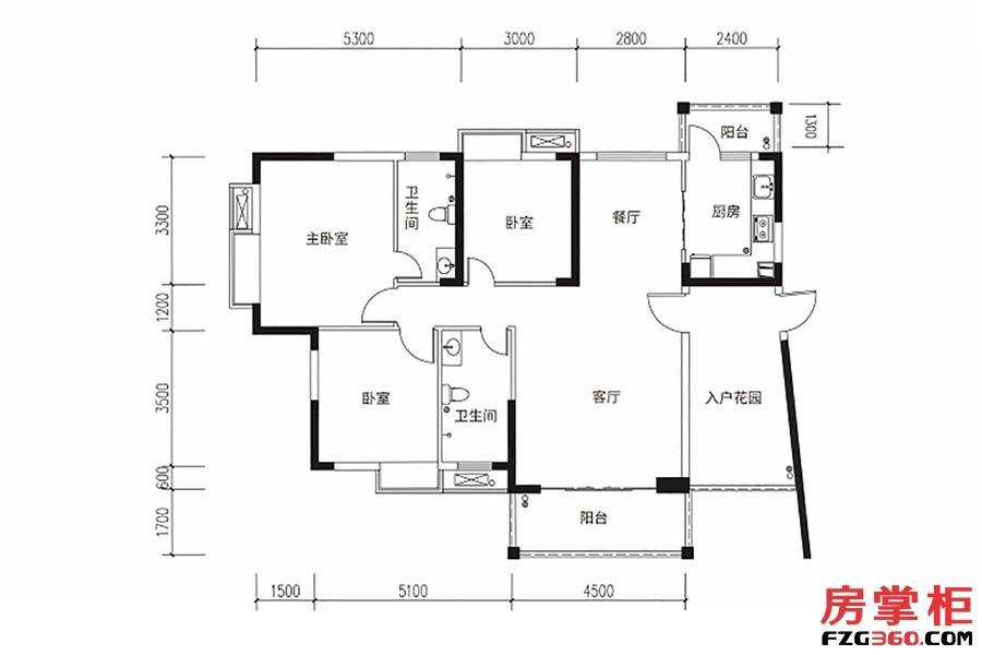 130平米3房2厅2卫