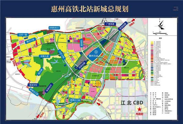 惠州望江片区规划图