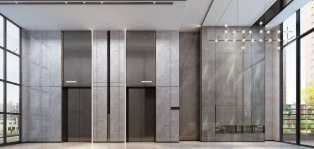 二街区电梯效果图