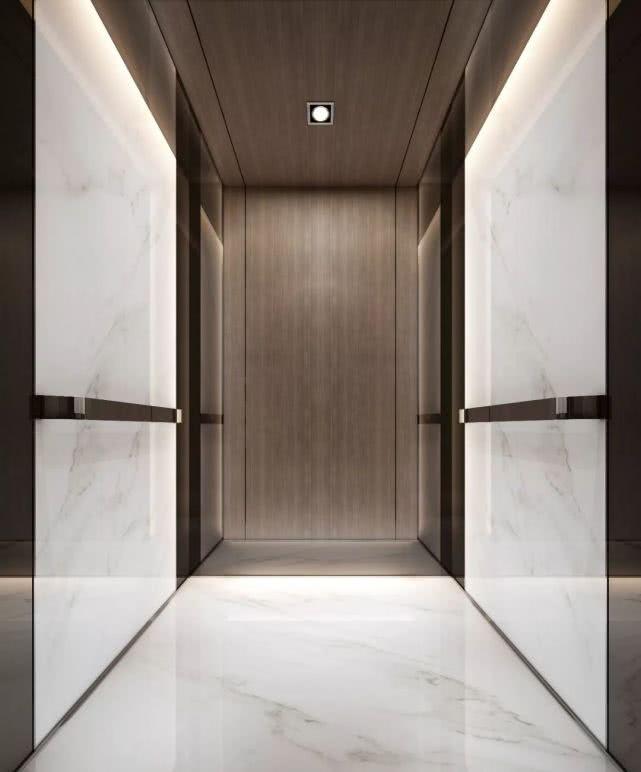 电梯轿厢效果图
