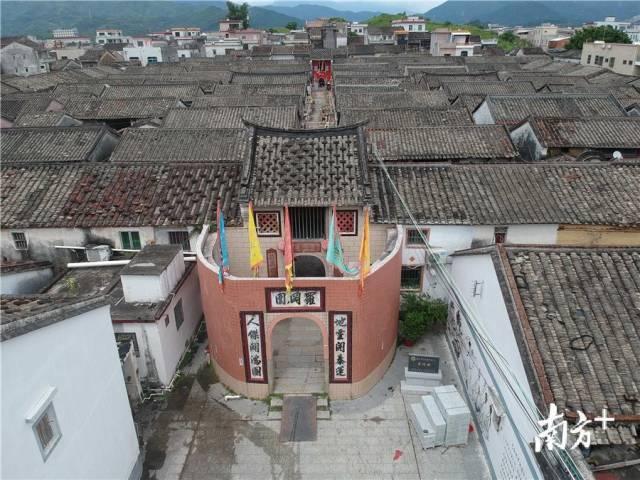 范和村罗冈围已经被列入惠州市文物保护单位。