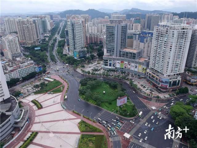 惠州将活化重塑花边岭广场等老城核心商圈。南方日报记者 梁维春 摄