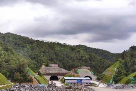 惠州北上将增加新通道 紫惠高速全线隧道顺利贯通