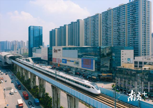 重大调整!莞惠城际北延线不设中间站直通赣深高铁