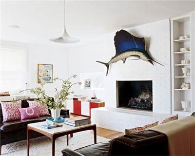 13款时尚简欧风格设计案例 小户型客厅装修效果图