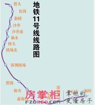 史上最全面深圳地铁01 12号线规划图图片