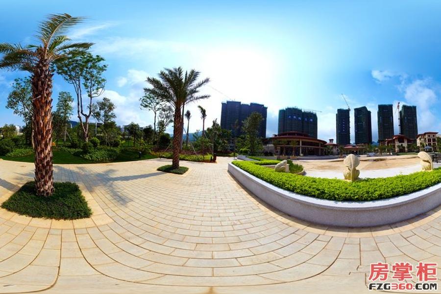 惠阳雅居乐花园实景图