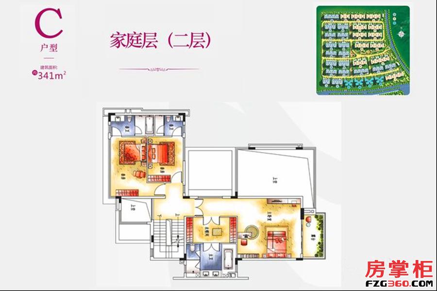 别墅C户型二层