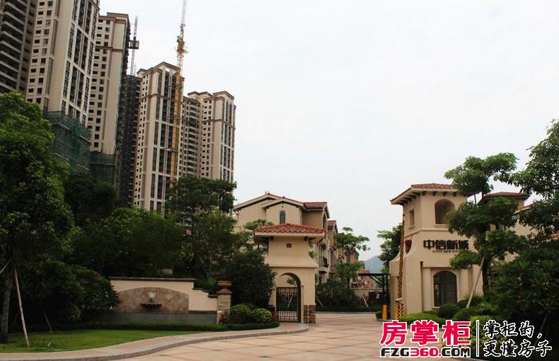 碧桂园南站新城实景图