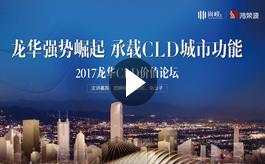 """""""龙华强势崛起 承载CLD城市功能""""高峰论坛"""