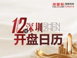 深圳12月开盘日历