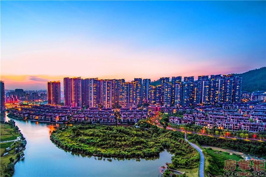 深圳东星河丹堤实景图