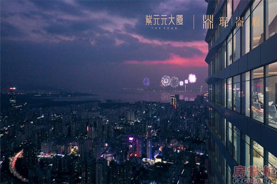 紫元元大厦效果图