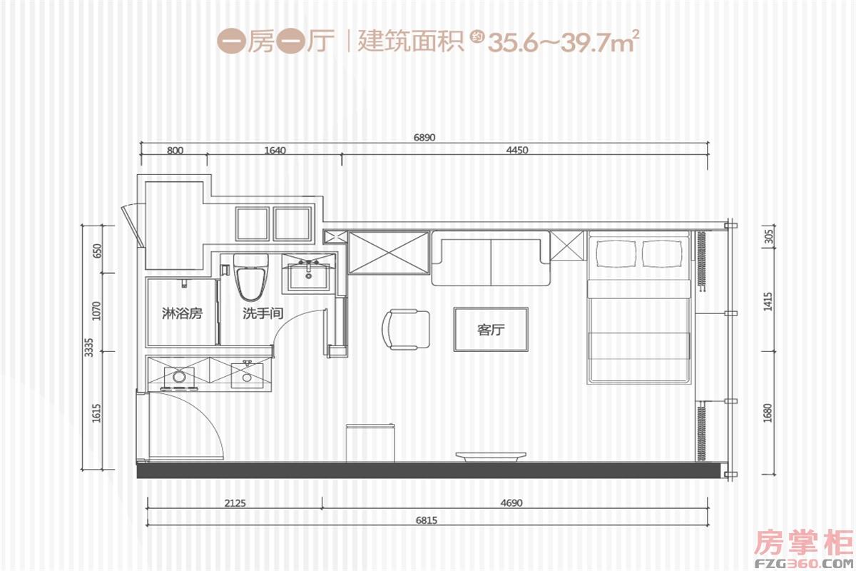 35-39㎡户型