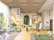 中海阳光橡树园架空层效果图