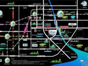 碧桂园城央印象交通图