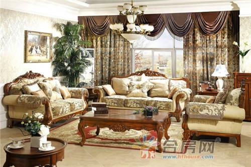 欧式复古家具家居装修设计效果图2016图片大全