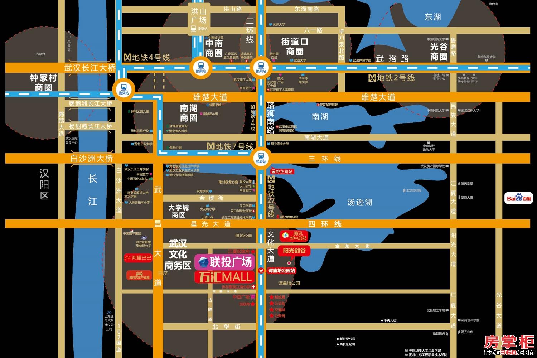 联投广场区位图