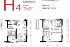 碧桂园蜜柚H4户型