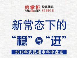 2018年武汉楼市年中盘点