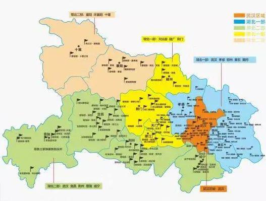 湖北地图高清版大图可放大图片_湖北省详细地图全图