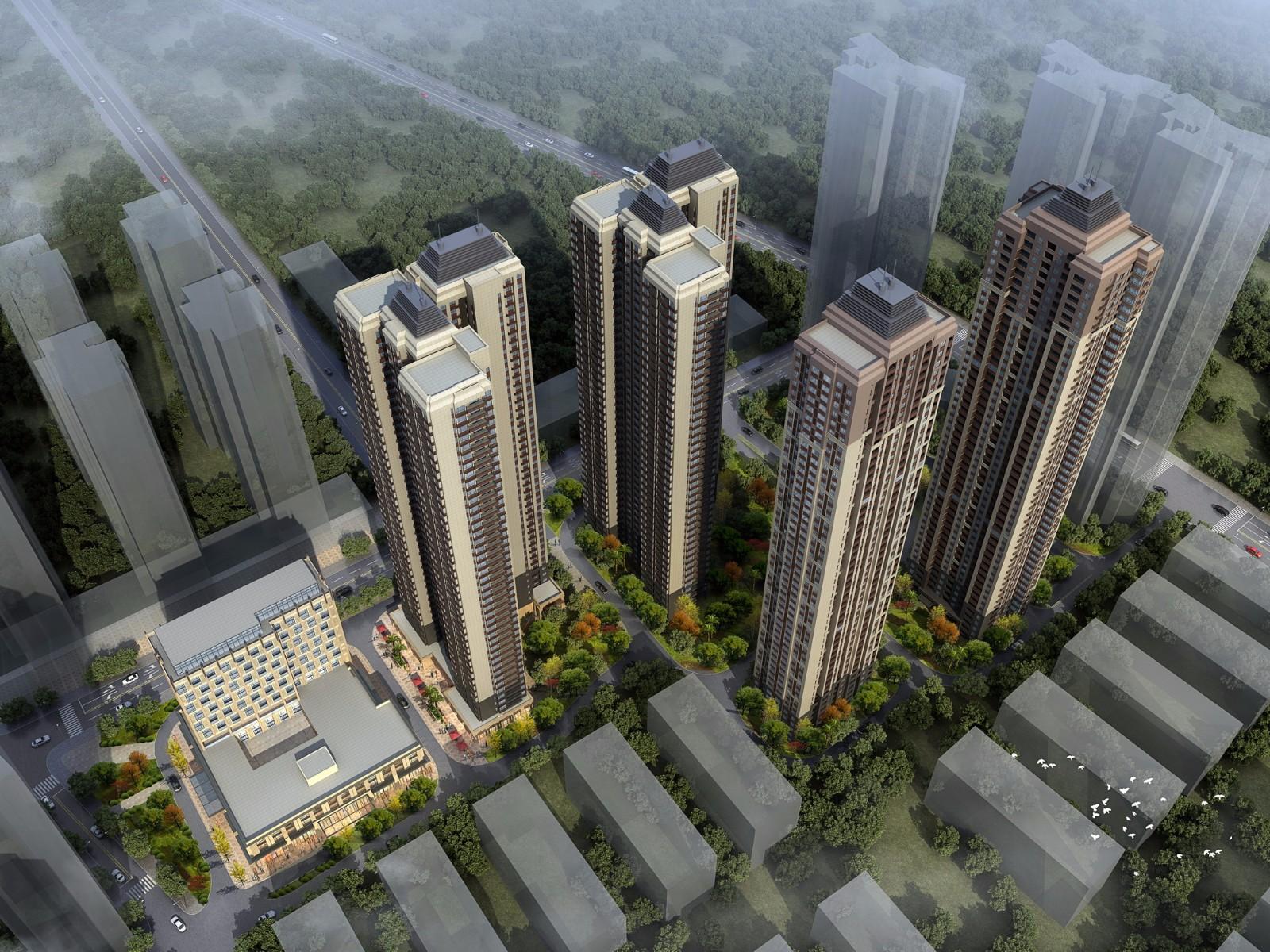 顶琇国际城B区规划方