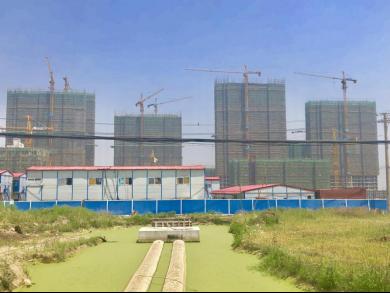 孔雀城航天府滨江苑,用优质施工创造美好生活